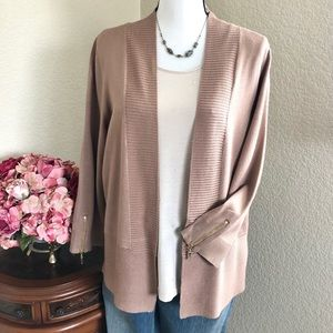 Carmen Marc Valvo Cardigan Sweater